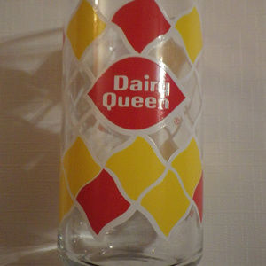 Vintage Dairy Queen Glass Rare